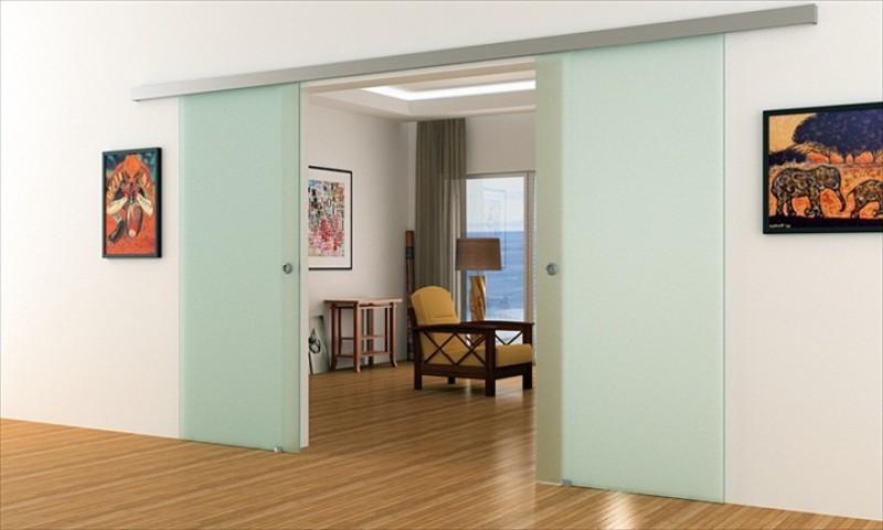 dorma agile 50 doppel glasschiebet r vollsatiniert 2. Black Bedroom Furniture Sets. Home Design Ideas