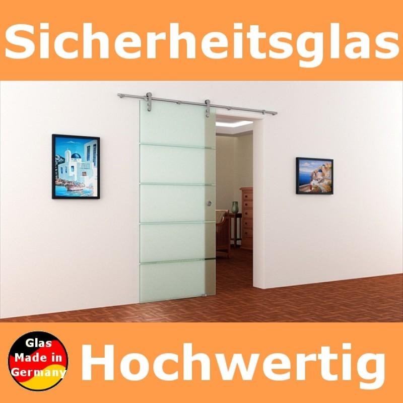 glasschiebet r 900 x 2050 mm edelstahl laufschiene mit. Black Bedroom Furniture Sets. Home Design Ideas